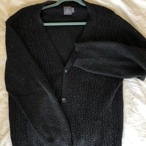 Hawkings McGill Flecked Black Cardigan